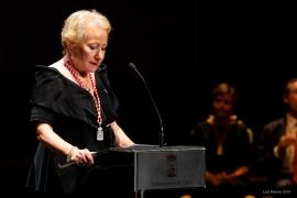 Entrega de la Medalla de Plata a la Asociación Belenista de Gijón en el Teatro Jovellanos el 29/6/2018 (Foto: Luis Manso)