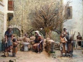 Infancia de Jesús. Asociación Belenista de Gijón